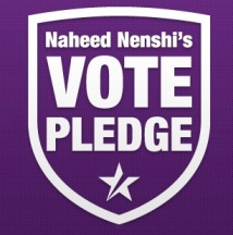 Nenshi's Vote Pledge