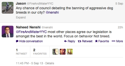 Unsurprisingly, our awesome Mayor knows what's up.