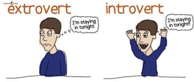 Extrovert v Introvert