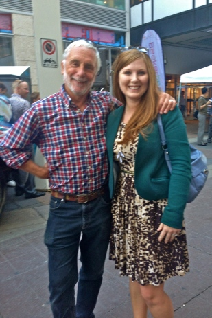 Guys! I met Jay Ingram this summer! (I'm just a nerd in general.)