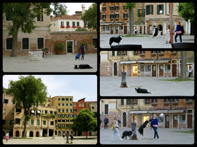 Playing ball in the old Jewish Ghetto